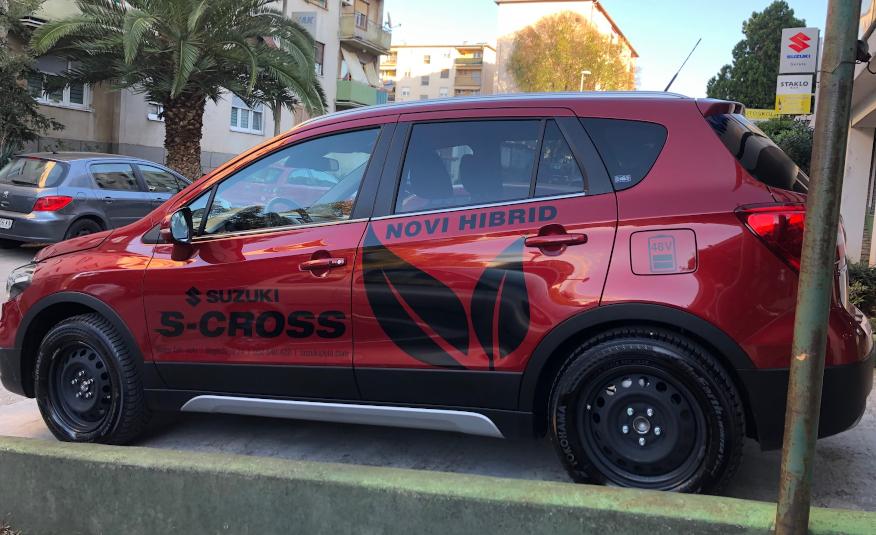 SX4 S-Cross 1,4 GLX (ELEGANCE)